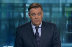 THAT awkward pause on the Six One News...