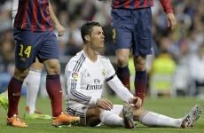 Ronaldo rage - Referee not up to El Clásico standard