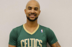 Snapshot - Boston Celtics unveil sleeved jerseys for St Patrick's Day