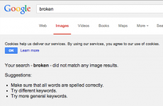 Google Image Search went down this morning, and it caused panic