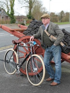 The first Irish-made bike in 40 years is being sent to... Barack Obama