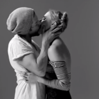 Horrifying or beautiful? Strangers are filmed kissing for the first time
