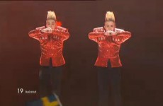 Jedward do Dusseldorf: Irish duo into Saturday's Eurovision final