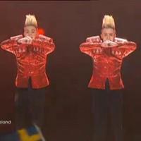 Jedward do Dusseldorf: Irish duo into Saturday's Eurovision final