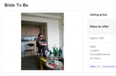 Need a wife? This bride to be from Cork is yours for €50