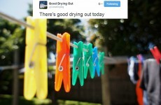 Wondering if there's good drying out? This Twitter account will tell you