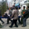 Disgruntled worker throws petrol bomb into Chinese bank