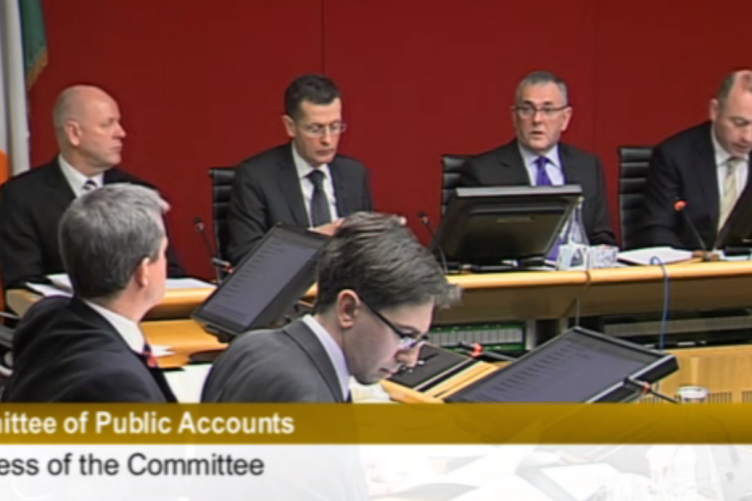The Public Accounts Committee meeting this morning