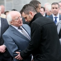 President Higgins among mourners at funeral of Christine Buckley
