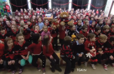 These Borris schoolkids singing for their team will melt your heart