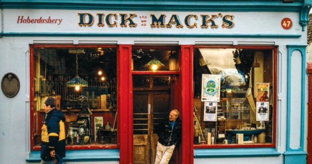 Photographs show the decline in Ireland's unique and beautiful shop fonts