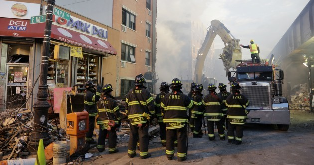 Eight people now confirmed dead in New York building explosion