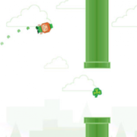 Someone has made a St Patrick's Day version of Flappy Bird