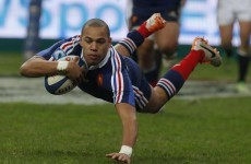 Gaël Fickou 'proud' to line-up against Brian O'Driscoll in his final game