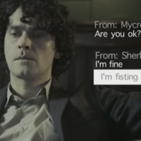Sherlock struggles with auto-correct in brilliant Norwegian parody