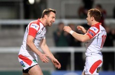 Paddy Jackson and Tommy Bowe ran riot for Ulster against Scarlets