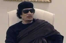 """Gaddafi tells NATO: """"I live in a place where you can't get me"""""""