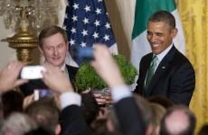 Barack Obama salutes BOD at annual White House Shamrock ceremony