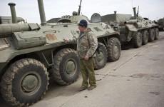 Two Ukrainians killed on eve of Crimea breakaway vote