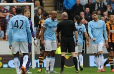 Was this decision to send off Vincent Kompany the correct one?