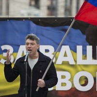 """""""Putin, get out of Ukraine"""": 50,000 turn out for anti-intervention rally... in Moscow"""