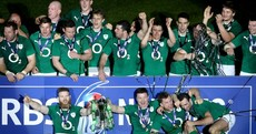 In Pics: Selfies and celebrations as Ireland take Six Nations title