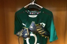 'Not easy taking this off for the last time': Brian O'Driscoll says thank you and goodbye