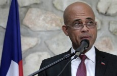 New president takes power in struggling Haiti