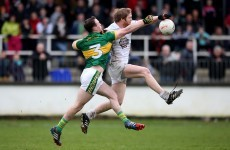 James O'Donoghue points the way as Kerry leave Kildare in relegation danger