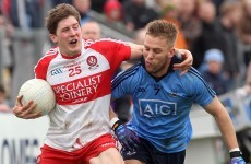 Lynch runs the show as Derry hand the Dubs their second league defeat
