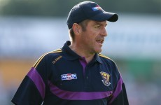Wexford stay in the hunt for promotion with victory over 14-man Laois