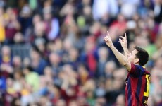 Seventh heaven for Barca as Lionel Messi becomes their all-time top scorer