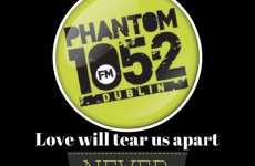 Here's the final hour montage of Phantom FM and the last song played