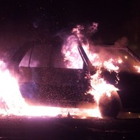 Car petrol-bombed in 'racist hate crime'