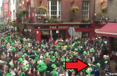 Roundup of St Patrick's Day as seen through the Temple Bar live camera