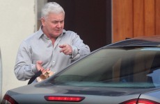 John Gilligan left Ireland last night after being discharged from hospital