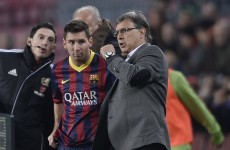 Tata Martino to leave Barcelona at end of the season - reports