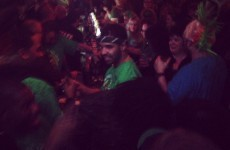 Drake partied with the Paddy's Day crowds in Temple Bar last night