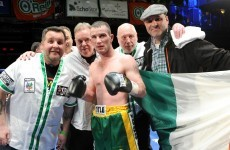 Ireland's John Joe Nevin secures convincing victory on pro debut
