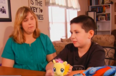 Thousands support bullied boy whose My Little Pony bag was banned by school
