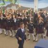 Kids choir makes Happy sound even more joyful