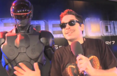 Viper from Hardy Bucks went to the RoboCop premiere, and it was hilariously awkward