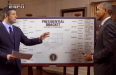 Barack-etology: Obama reveals his picks for this year's March Madness on TV