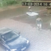 Driver knocks over passing cyclist... and leaves a mattress to cushion his fall