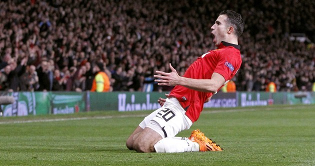 Robin to the rescue as Manchester United advance to Champions League quarter-finals
