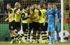 Zenit bow out despite Hulk wonder strike and away win at Dortmund