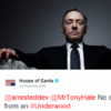 Arrested Development and House of Cards had a war of words on Twitter