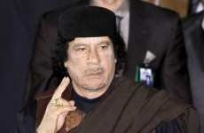 International Criminal Court seeks arrest of Gaddafi over Libyan 'crimes against humanity'