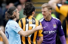 George Boyd denied spitting at Joe Hart - but the FA has banned him anyway