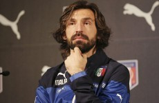 Bearded gent Pirlo scores another stunning free kick